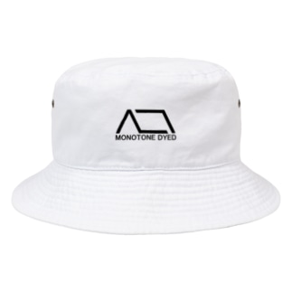 MONOTONE DYED Bucket Hat
