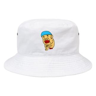 水泳帽うんちのレンくん Bucket Hat