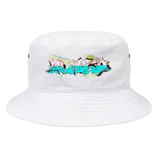 GRAFFITI LOGO② Bucket Hat