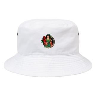 ケイトバンス コラージュハット Bucket Hat