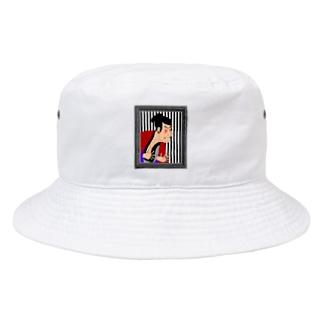 東洲斎 写楽 Bucket Hat