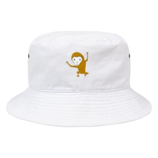 NIKORASU GOのサル Bucket Hat