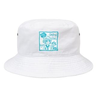 GAME ON! 【SWEET LIGHTBLUE】 Bucket Hat