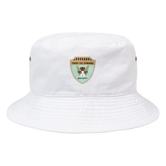 トリオ ザ ストライプ pompon  Bucket Hat