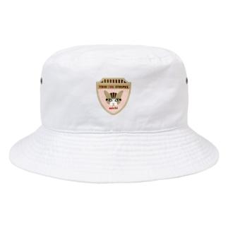 トリオ ザ ストライプ michi Bucket Hat