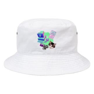 momo_emi 電化製品 Bucket Hat