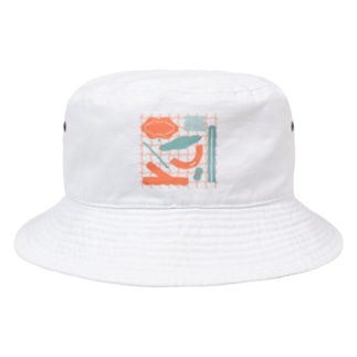 grid Bucket Hat