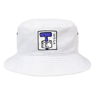 サイコロどっち? Bucket Hat