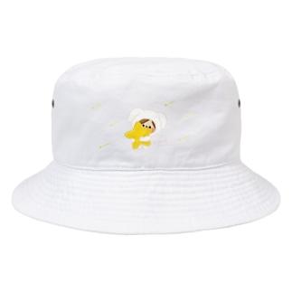 かわいい主婦の1日 星 Bucket Hat