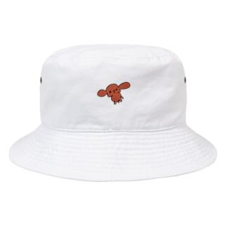 虚無プードル Bucket Hat