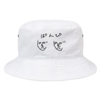 がらぱごす神社@100円セール中(オモイデミテ)のおっぱんぴー Bucket Hat
