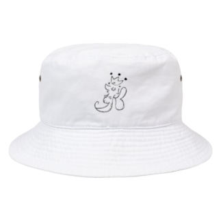 Leafy Isi: DR△G♡N モノクローズ Bucket Hat