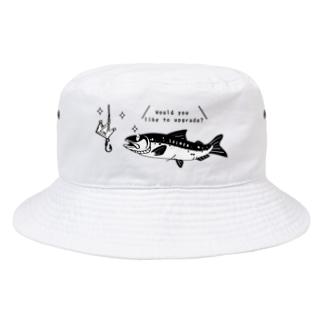 CT142 キングサーモンへ Bucket Hat