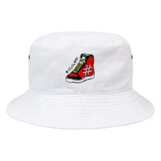 バッシュタグ#4 Bucket Hat