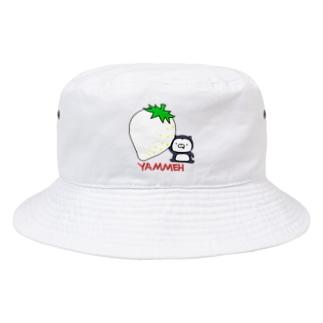 ホワイトストロベリーとムーネフ Bucket Hat