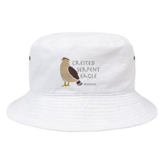 しまのなかまカンムリワシ(飛んでない)改 Bucket Hat