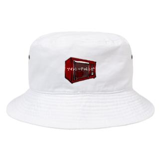 ワインレッドのレンジ Bucket Hat