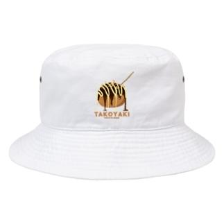 たこ焼き Bucket Hat