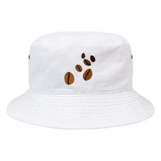 コーヒー豆  Bucket Hat
