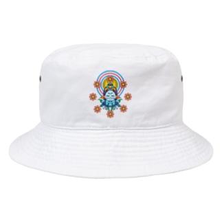 聖観音(閻魔大王) Bucket Hat