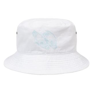 爽やかなナポレオンフィッシのカップル Bucket Hat