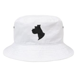 シュナウザーの横顔 Bucket Hat