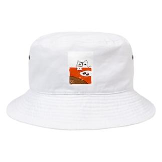 猫とブラウニー Bucket Hat