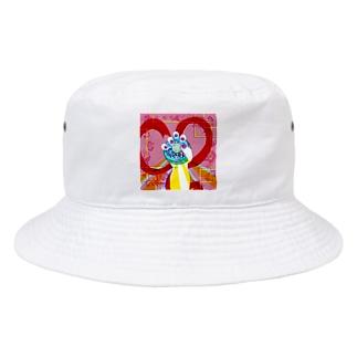 変身しチャイナ Bucket Hat