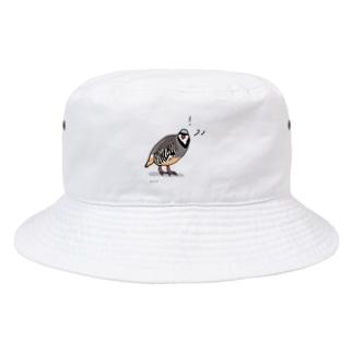 驚くイワシャコ Bucket Hat