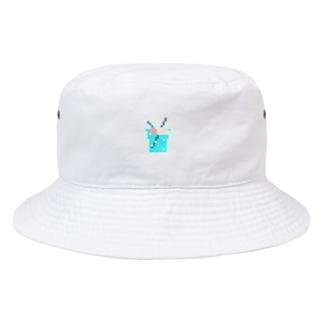 ドット絵クリームソーダ Bucket Hat