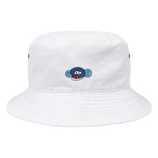 顔だけ半鰻人 Bucket Hat