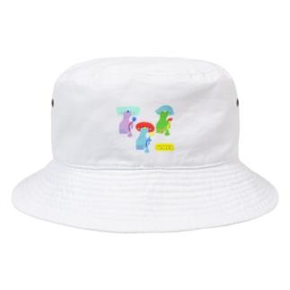 うちゅうじんの石膏像👽🔥 Bucket Hat