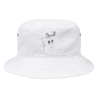 ユトリデラックスのユトリデラックス(イラスト) Bucket Hat