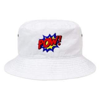 GliateWorkShopのPOW! Bucket Hat