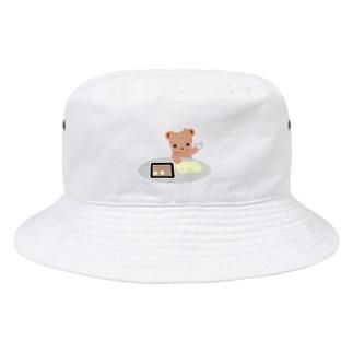 クッキーとクマさん Bucket Hat