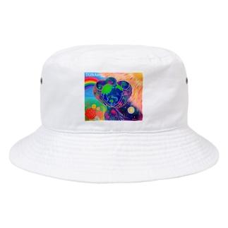 宇宙鳥 Bucket Hat