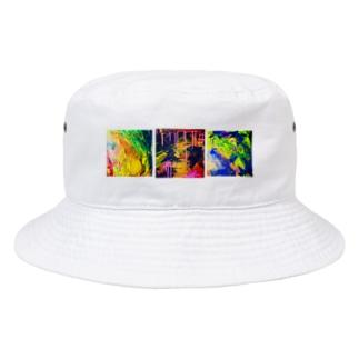 👼angel (🟧🟪🟦 Bucket Hat