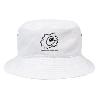 エリマキトカゲレコーズ Bucket Hat