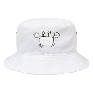 スーパーカニさん Bucket Hat