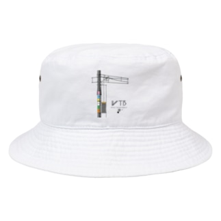 WTBと電柱(高崎エリア) Bucket Hat