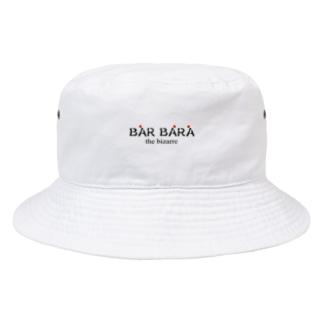 バルバラロゴシリーズ Bucket Hat