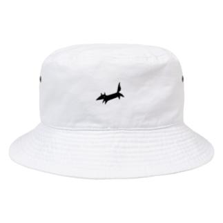 くろきつねくん Bucket Hat