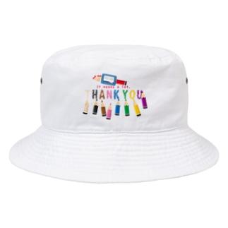 CT155 ちびた色鉛筆*A Bucket Hat