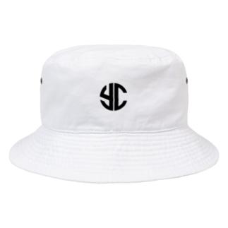 八重チャンネル YC-logo Bucket Hat