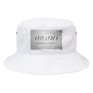 CITYSCAPE Tシャツ Bucket Hat
