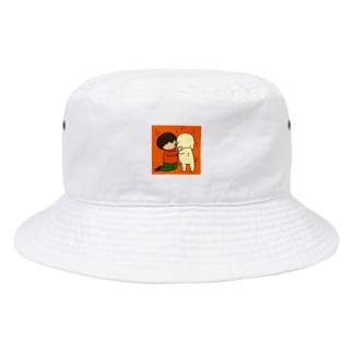 D.D.まさる君とたぶん犬(ぺろぺろver.) Bucket Hat