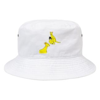 腹違いカンガルー Bucket Hat
