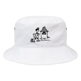 王子と姫 Bucket Hat