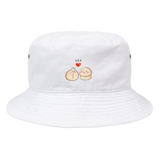 ラブラブニャンちゃん Bucket Hat