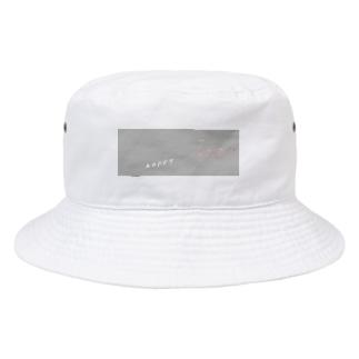 はっぴーメガネ Bucket Hat